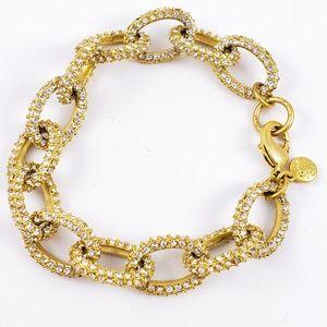 J. Crew Jewelry - J. Crew Bracelet Pave Links